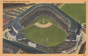 NEW YORK CITY , 1930s-40s ; Yankee Baseball Stadium
