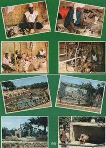 Niger Musee Niamey Jardin Zoologique Les Artisans 2x Postcard