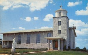 Berryville Arkansas~St Ann Catholic Church~1960 Postcard