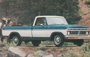 Advertising 1977 Ford F-100 Ranger XLT Pickup Truck