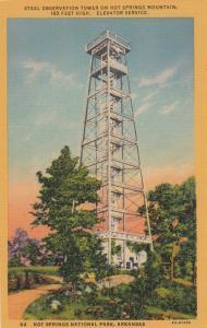 HOT SPRINGS , Arkansas , 1930-40s , Observation Tower