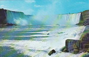 Canada Ontario Niagara Falls Maid Of The Mist Sails Near The Canadian Horsesh...