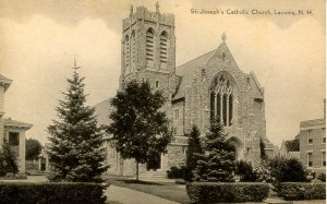 NH - Laconia. St Joseph's Catholic Church