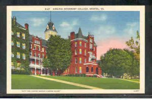 Virginia colour Postcard Intermont College Bristol