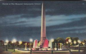 Obelisk At War Memorial Indianapolis Indiana