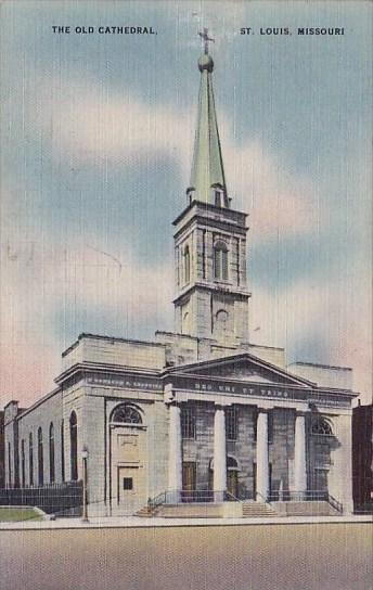 Missouri Saint Louis The Old Cathedral 1947