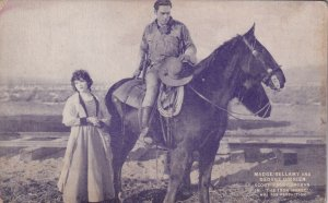 MADGE BELLAMY & GEORGE O'BRIEN, in The Iron Horse, 1924