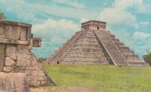 YUCATAN , Mexico , 1950-60s ; Chichen-Itza , El Castillo