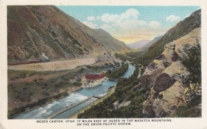 WEBER CANYON, Utah, 1900-1910's; The Union Pacific System