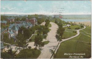 Maine  Portland    Western promenade,