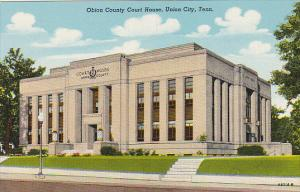 Tennessee Union City Obion County Court House Curteich