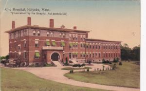 HOLYOKE, Massachusetts , PU-1909;  City Hospital