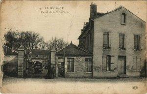 CPA LE BOURGET- Entree de la Cristalleire (123946)