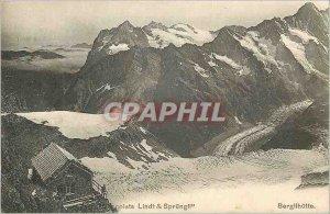 Postcard Old Lindt Chocolates Sprungl Berglihutte