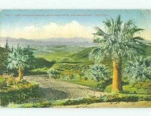 Divided Back DIRT ROAD AT ARROWHEAD HOTEL San Bernardino California CA HQ5579