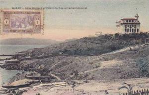 Senegal Dakar Anse Bernard et Palais du Gouvernement General
