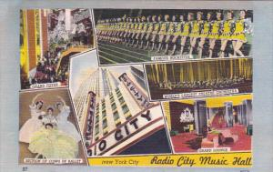 Multi-Views, Radio City Music Hall, NEW YORK CITY, New York, 1930-1940s