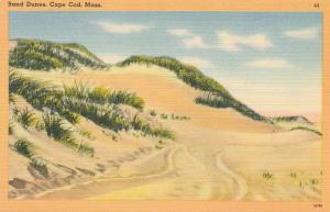 Sand Dunes on Cape Cod, Massachusetts - Linen