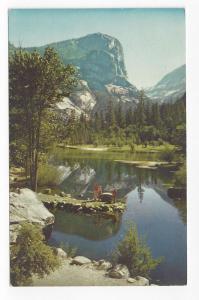 CA Yosemite National Park Mirror Lake Mt Watkins 1968 PC
