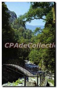 Modern Postcard Allevard Les Bains Promenade du Bout du Monde