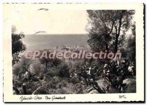 Modern Postcard Ajaccio Corse Vue Generale