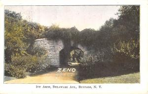 Advertising Post Card Zeno, Latsch & Son, Chewing Gum Ivy Arch, Delaware Ave,...