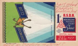 GULFPORT , Florida , 1951 ; F.W.LUNAN Stamps for Sale