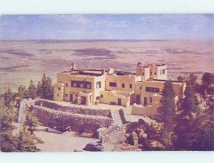 Pre-1980 LODGE SCENE Colorado Springs Colorado CO AE0552