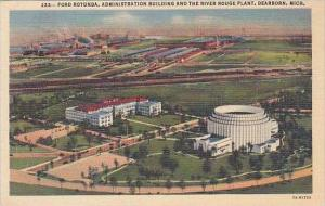 Michigan Dearborn Ford Rotunda Administration Building And The River Rouge Plant