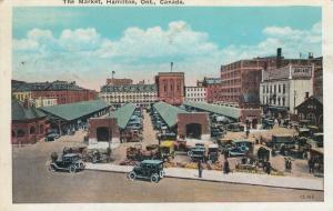 HAMILTON , Ontario , 1910s ; The Market