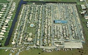 FL - Englewood, Aerial View of Holiday Travel Park