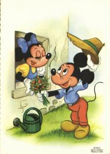 Walt Disney Productions, Mickey and Minnie Mouse (1960) I