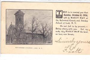 Reformed Church, Lodi NY