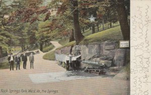 ROCK SPRINGS PARK, West Virginia, 1907; The Springs