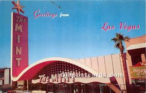 Old Vintage Gambling Postcard Post Card The Mint Las Vegas, Nevada, NV, USA U...