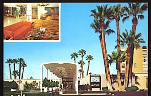 USA Postcard Palm Springs Spa Hotel Palm Springs California