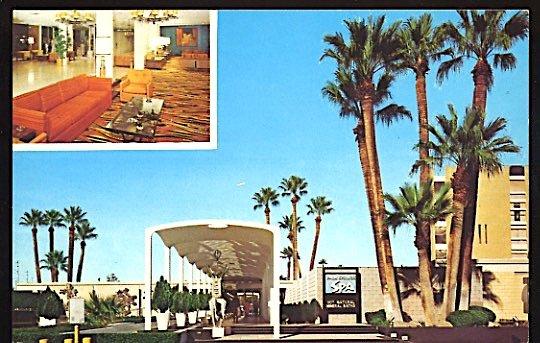 USA Postcard Palm Springs Spa Hotel Palm Springs California