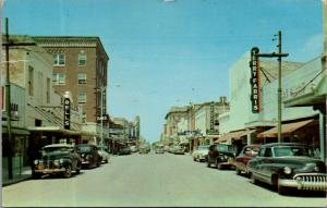 Brownsville TX~Bells~Farris Dept Store~Queen Theater~Hargrove Office Supply~1953