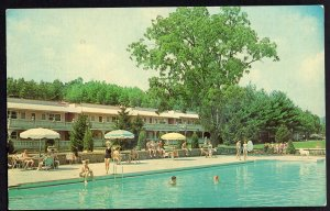 Pennsylvania CRESCO Pocono Gardens Lodge - pm1985 - Chrome