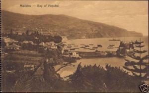 portugal, MADEIRA, Funchal, Bay, Panorama (1920s)