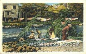 Wash Day Philippine Islands Philippines Unused