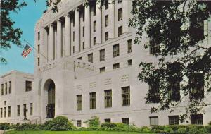 Exterior,  Caddo Parish Court House,  Shreveport,  Louisiana,  40-60s