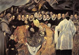 Domenicos Theotocopoulos The burial of the nobleman of Orgaz
