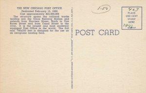 CHICAGO, Illinois, 1930-40s ; New Post Office