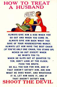 Humor - How to treat a husband