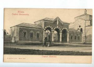 241119 ITALY MILANO Cimitero Acattelici cemetery non-Catholics