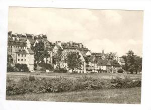 RP  WARSZAWA, Poland, 60-70s  Domy na skarpie staromiejskiej