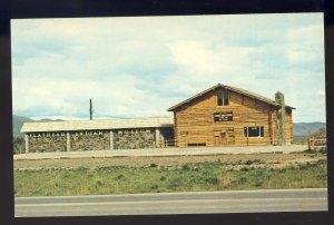 St. Ignatius, Montana/MT Postcard, Flathead Indian Museum & Trading Post