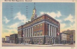 Maryland Hagerstown New City Hall 1949