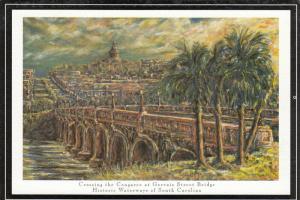 COLUMBIA , South Carolina , 60-80s ; Gervais Street Bridge